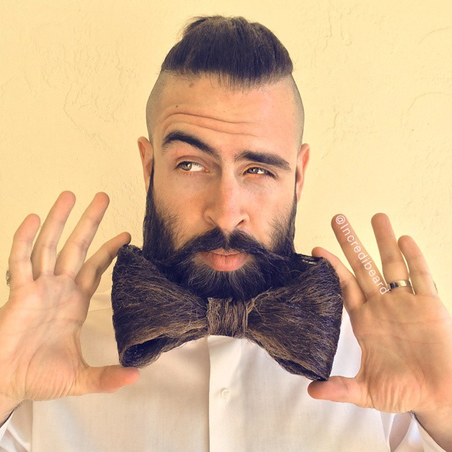 Barbe noeud papillon_Mr Incredibeard