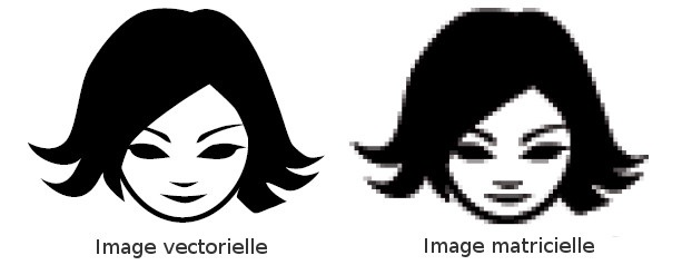 Image vectorielle et image matricielle 3