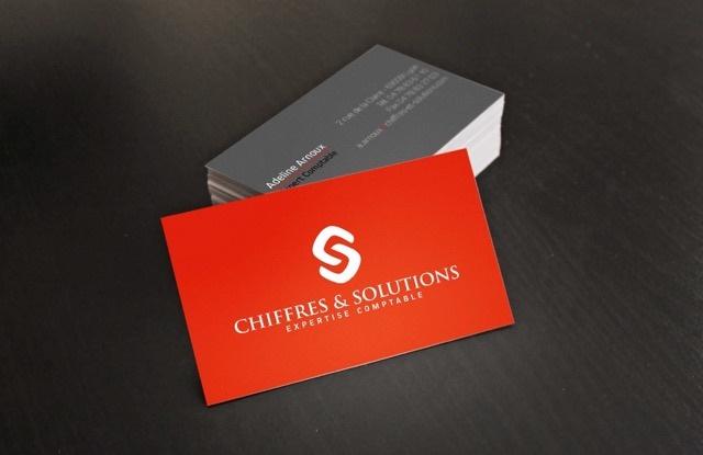Conception de carte de visite Patricia Designer Graphique-Chiffres et solutions