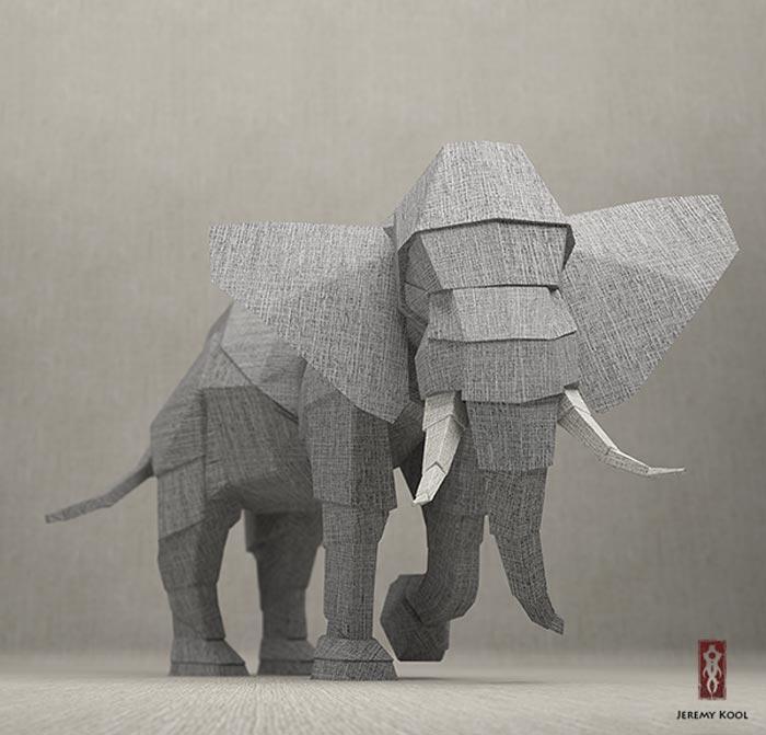Jeremy Kool_Origami 3D_2