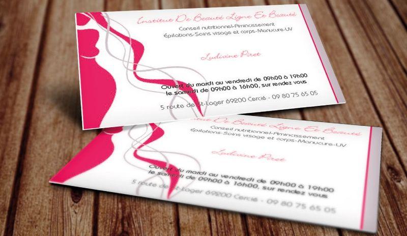 Carte de visite Patricia Designer Graphique